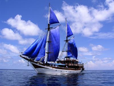 Kararu Dive Voyages,Indonesien