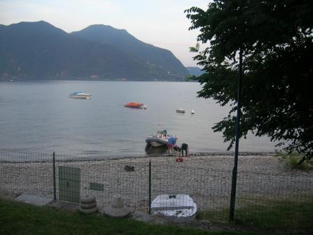 AZZURA sub Verbania (Lago Maggiore),Italien