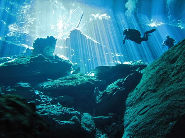 Chac Mool Cenote, Planet Scuba Mexico Höhlentauchen Cenoten, Cenote Chac Mool (incl. Kukulkan + Little Brother), Mexiko