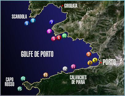 Mediterranee Porto Sub,Porto (Korsika),Frankreich