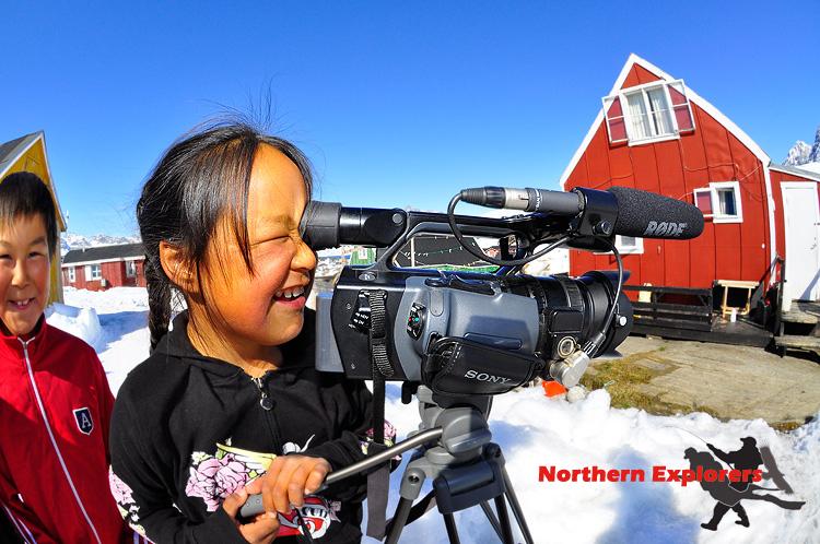 Northern Explorers - Tasiilaq (East Greenland), Ostküste Tasiilaq (East Greenland),Grönland,Kamerafrau,Eisberge