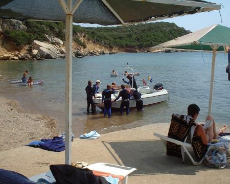 Diveshack-Teos,Sigacik,Seferihisar,Izmir,Türkei