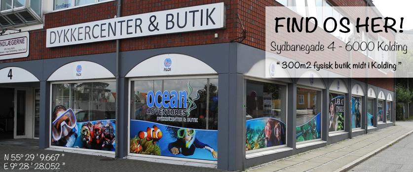 Ocean Adventures Dykkercenter & Butik, Kolding, Dänemark
