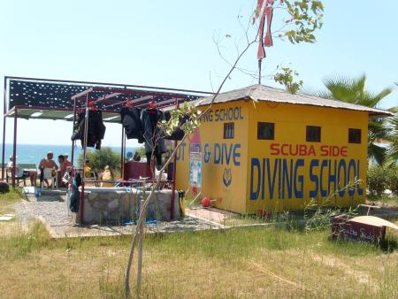 Scuba Side Diving Center (Shut up & Dive),Hotel Turquoise,Side,Türkei
