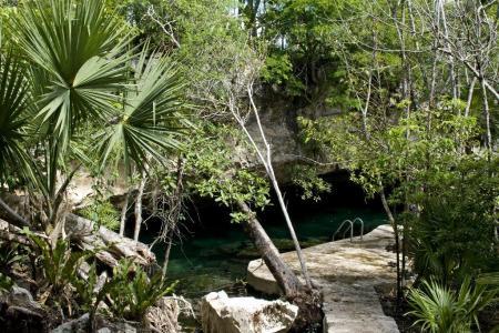 Cenote Chac Mool,Mexiko