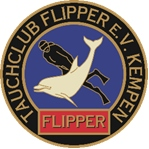 Unser Logo, Tauchclub Flipper e.V.  Kempen, Deutschland, Nordrhein-Westfalen