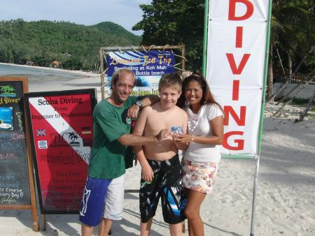 Dreamland Diver,Koh Phangan,Golf von Thailand,Thailand