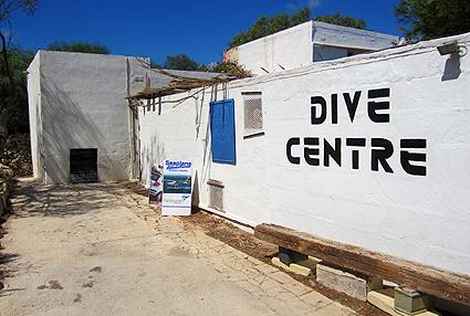 Comino Dive Center by Diveshack,Comino,Malta