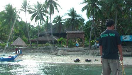 Coco Beach Island Resort,Mindoro,Philippinen