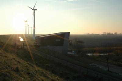 Dreischor Pumpstation Grevelinger Meer,Niederlande