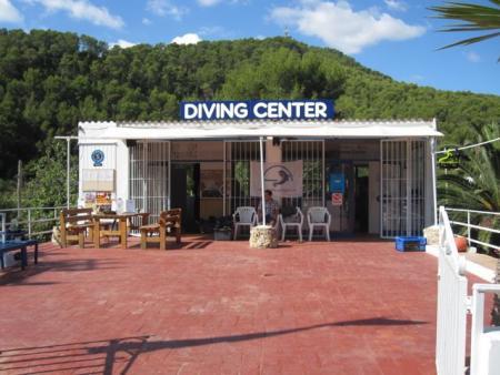 Scuba College,Cala San Vicente,Ibiza,Balearen,Spanien