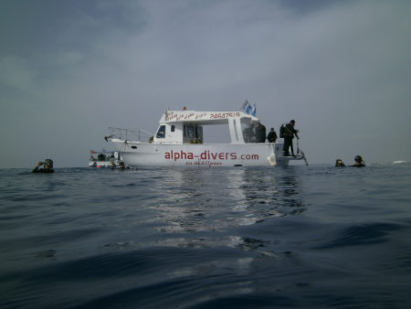 Alpha Divers,Larnaca,Zypern