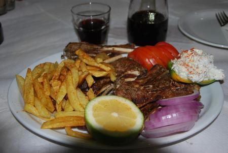 Taverna Kapmiphs Nikos,Limni Kerioú,Zakynthos,Griechenland