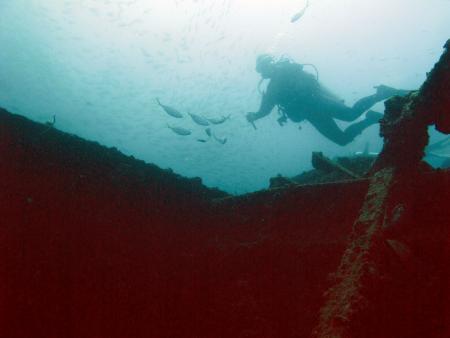 Boonsung Wreck,Pakarang Cape,Thailand