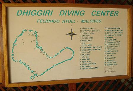 Dhiggiri Dive Center,Malediven