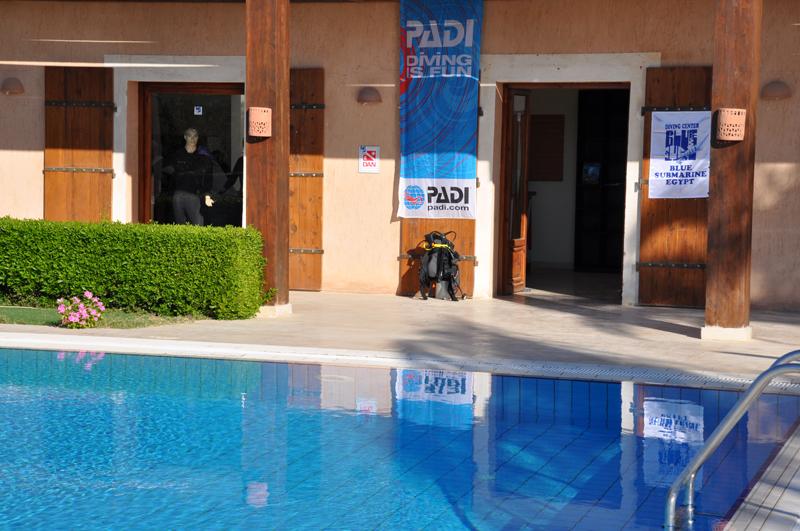 Diving Centre, Blue Submarine Diving Center, Gemma Resort, Marsa Alam, Ägypten, Marsa Alam und südlich
