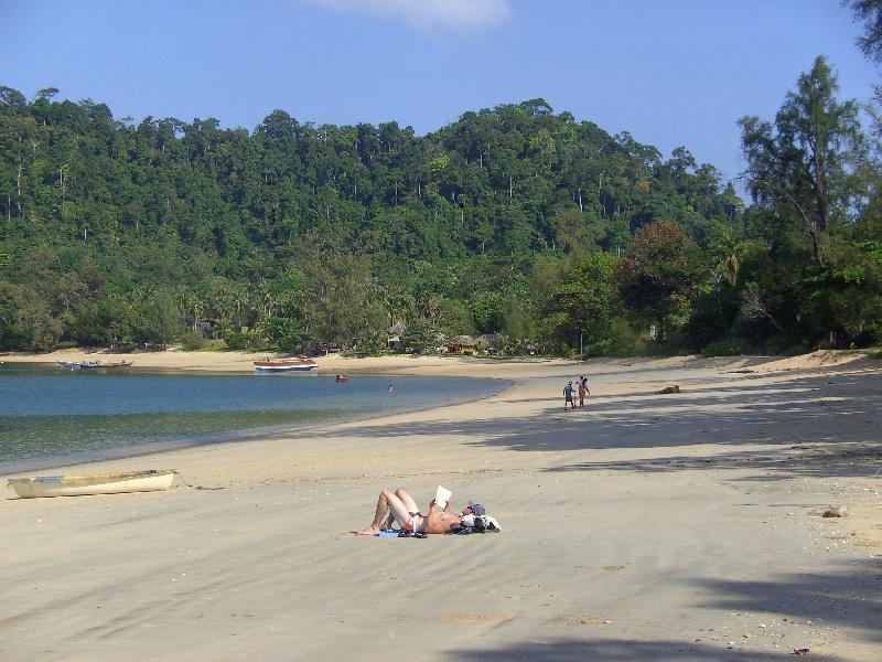 Koh Phayam Buffalo Bay - nord, Koh Phayam, payam, Tauchen, Surin Inseln, Thailand, Tagestour, Richelieu Rock, Aladdin Dive Safari (Koh Phayam Island), Andamanensee