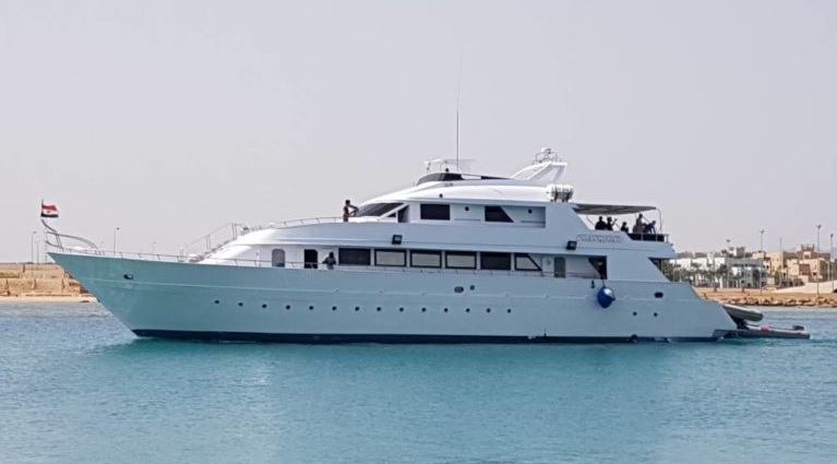 M/Y Sea Friend, Ägypten