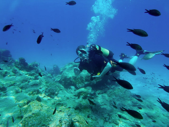 Green Bay, Windmills Diving School Protaras, Zypern