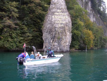 Tauchboot Vierwaldstättersee,Schweiz