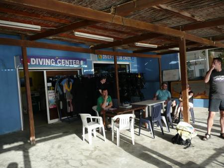 Divers Club Crete,Agia Pelagia,Kreta,Griechenland