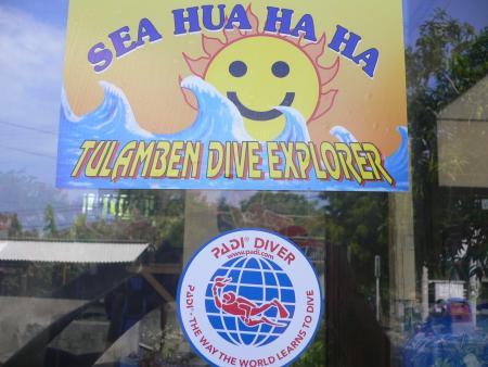 Sea Hua Ha Ha Tulamben Dive Explorer,Bali,Indonesien
