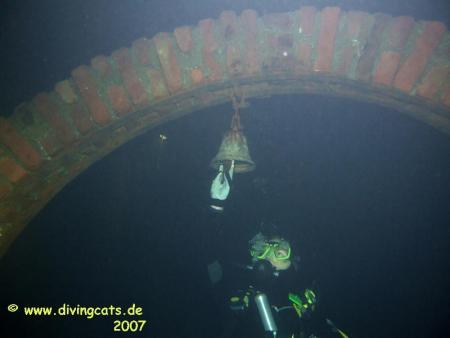 Gasometer (Tauchrevier),Duisburg,Nordrhein-Westfalen,Deutschland