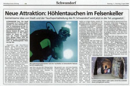 Sporttaucher Schwandorf,Bayern,Deutschland