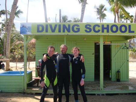 Stellina Diving School,Las Terrenas,Halbinsel Samana,Wrack der Dolphin,El Portillo/ Las Terrenas,Dominikanische Republik