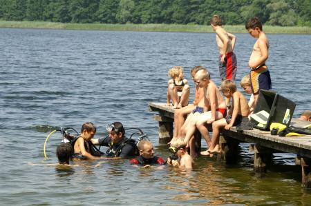 Abenteuer & Wasssersport,Tauchbasis Plau am See,Mecklenburg-Vorpommern,Deutschland