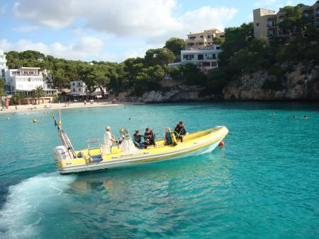 Cala Santanyí Diving Center (Paco´s Diving),Mallorca,Balearen,Spanien