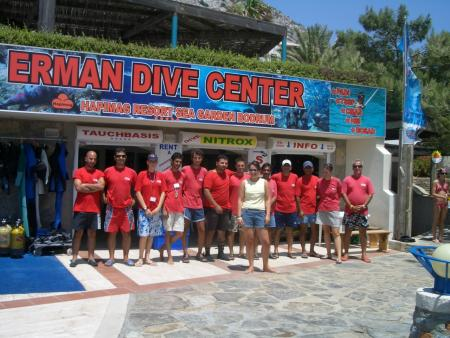 Erman Dive Center,Türkei