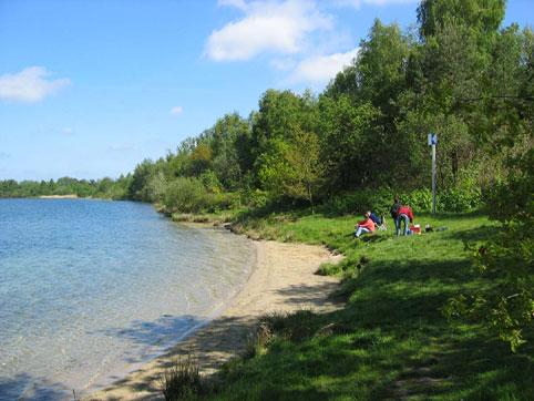 Grienbergsee, Grienenbergsee,Uthlede,Niedersachsen,Deutschland