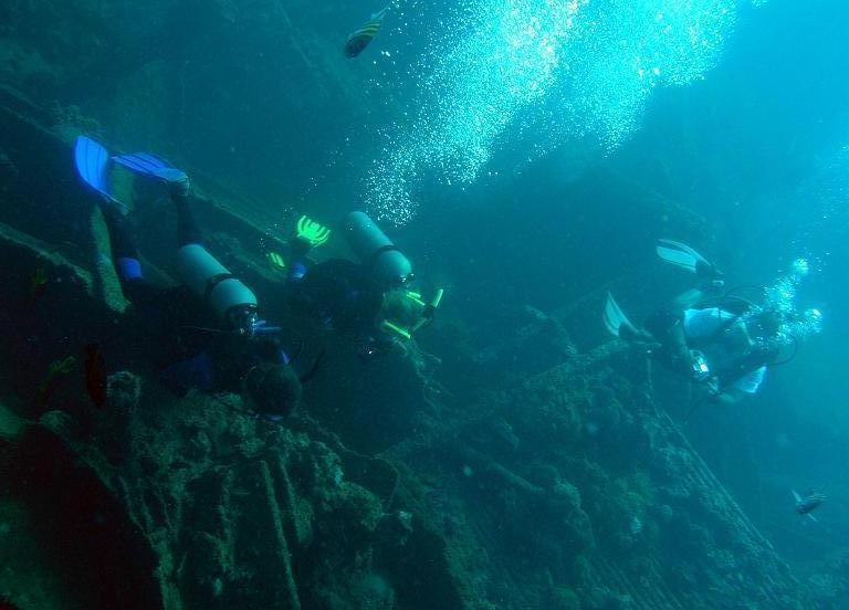 2. Weltkrieg Schiffswrack Antilla, Antilla Wrack,Aruba