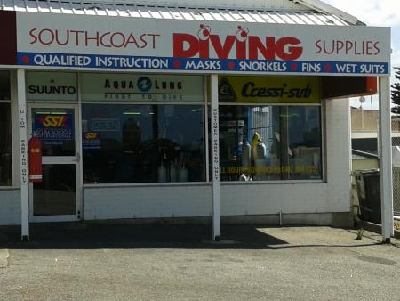 Southcoast Diving Supplies,Albany WA,Australien