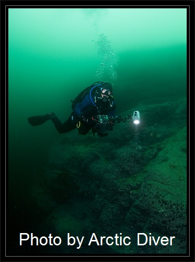 I♥NorwayDiving, Kvæfjord/Troms,Norwegen