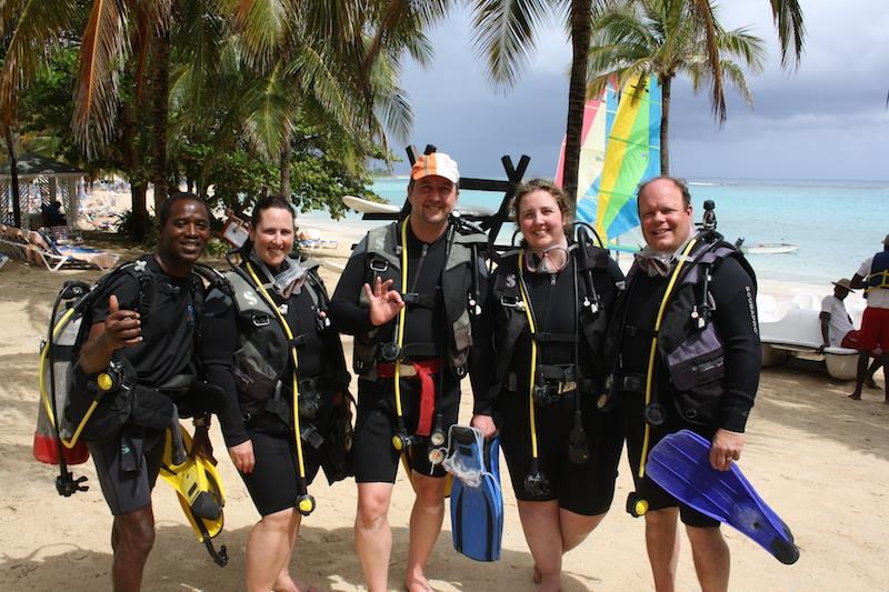 ScubaCaribe RIU Ocho Rios - Taucher, Scubacaribe, Ocho Rios, Hotel RIU, Jamaika