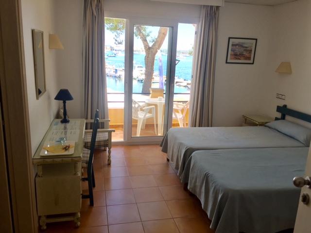 Sporthotel Bahia Azul, Porto Colom, Zimmer, Bahia Azul, Ted Fecke, Tauch- und Sporthotel Bahia Azul, Spanien, Balearen