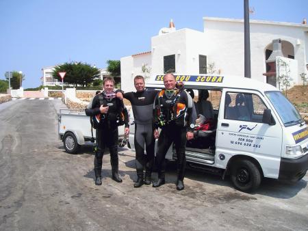 Son Bou Scuba,Menorca,Balearen,Spanien