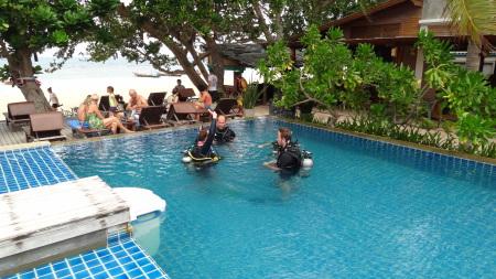 Scuba Shack,Koh Tao,Golf von Thailand,Thailand
