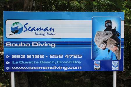 Seaman Diving Center,Grand Baie,Mauritius