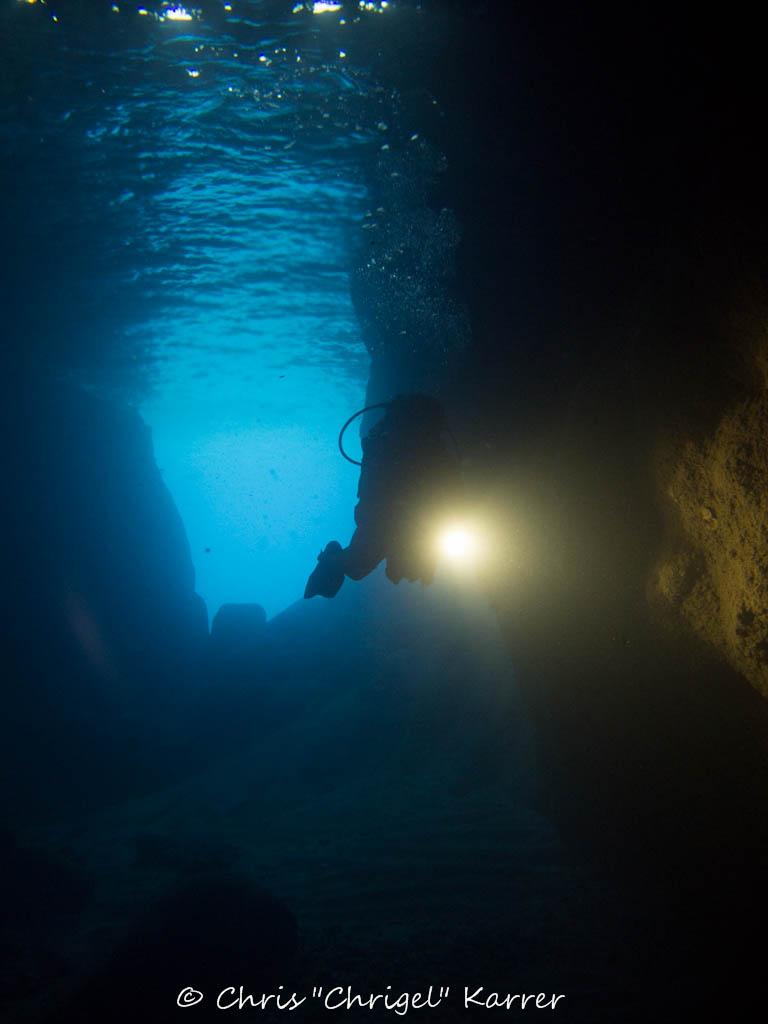 Beltorrente Kaverne, Beltorrente Kaverne, Sardinia Divers, Orosei, Italien, Sardinien