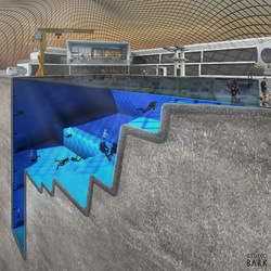 Projekt Blue Abyss - London (Tauchzentrum)