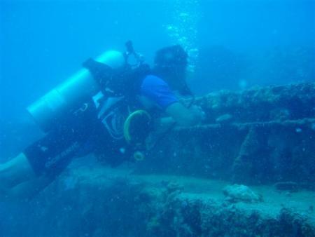 Mahe,Beau Vallon,Dedger Wreck,Seychellen