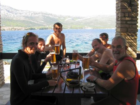 Dupin Dive Centre,Korčula,Kroatien
