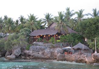 Sampaguita Resort / Gangga Divers, Tongo Point, Maolboal, Cebu Island, Philippinen