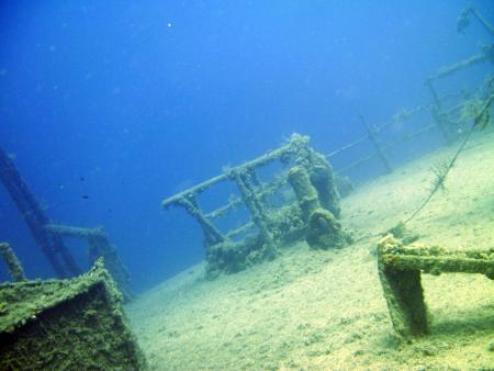 Bodrum - Turgutreis,Yassı Ada - Wrack ´Mirna-M´,Türkei
