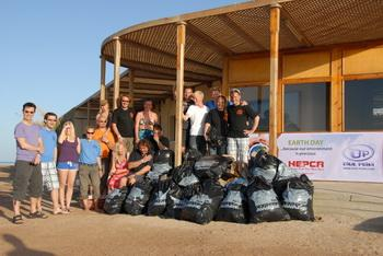 Earth Day bei Dive Point Red Sea, Hurghada