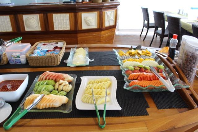 Frühstück, Carpe Novo Explorer, Malediven