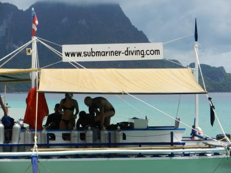 Submariner Diving Center,El Nido,Palawan,Philippinen